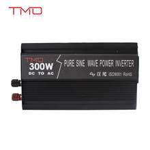 TMO Power Solar 12V 220V 50/60Hz 300Watt Pure Sine Wave Inverter DC AC Inverter