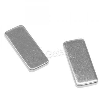 1353849 hot sale in 2019 Stainless Steel cabochon setting Rectangle shape