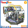 Coin Operated Car Racing Game Machine T1 Dynamic 3 Screens Racing (1)