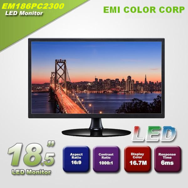 18.5 inch 1366*768 16:9 Desktop Laptop Computer LED Monitor OEM