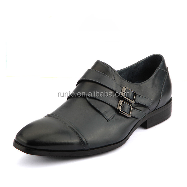 Dongguan shoe factory best sale design nice quality fancy leader shoes for men wholesale price