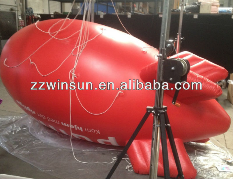 2013 hot sales advertising airship advertising balloon inflatable