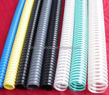 Flexible PVC Air Conditionning Drain Helix Suction Hose Pipe in Plastic Tubes