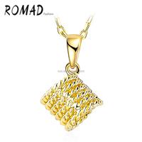 jewelry making gold chain Twisted flower gold necklace fashion jewelry lady choker