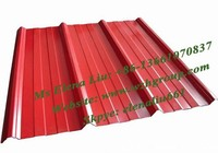 ppgi color coated corrugated steel roofing/galvanized prepainted metal roof tile/ wave tile