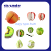 Fancy Decorative Die Cut and Cute Promotional Fruit Shaped Removable Sticky Note Pad