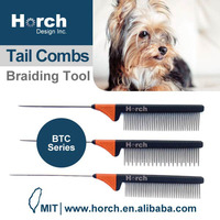 New Design Stainless Steel Pet Hair Dog Grooming Tail Tool Brush