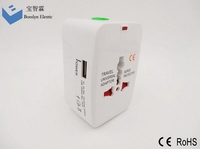 HD-931L-C super quality hot sell travel adapter sockets with ce