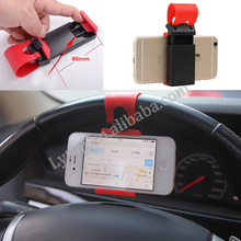 On sale car steering wheel holder phone accessory for smartphone