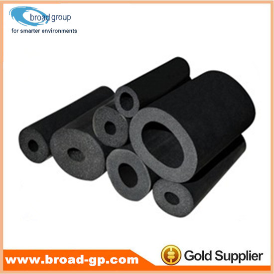 Black Air Conditioning Pipe Insulation Rubber Foam