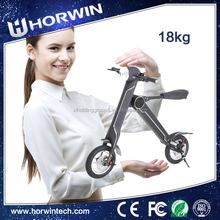 Battery Powered electric Foldable motorcycle 3 wheel self balancing electric scooter