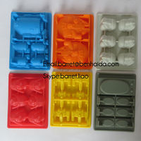 novelty silicone ice molds/silicone ice pop mold