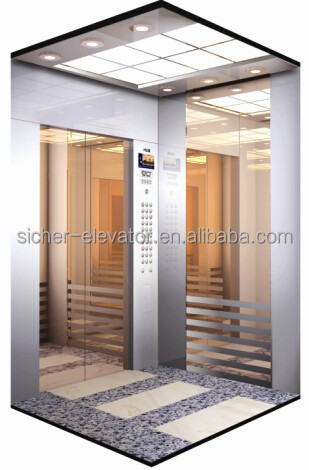 SRH Passenger Elevator with Emergency car lighting(GRPS20)