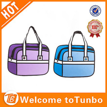 3d cartoon bag for lady <strong>fashion</strong> 2d jump style new hand bag women