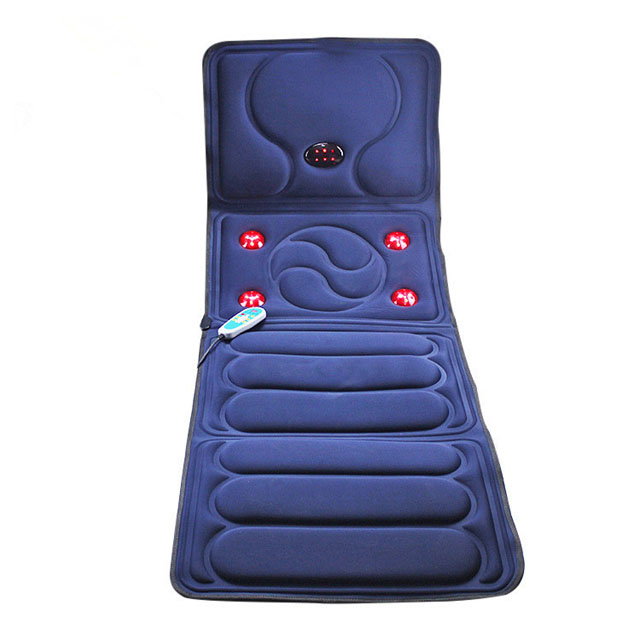 Electric Full Body Microcomputer heating vibrating back massage pad massage bed neck shoulder pad
