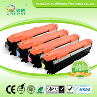 Remanufactured color toner cartridges for CE740A CE741A CE742A CE743A