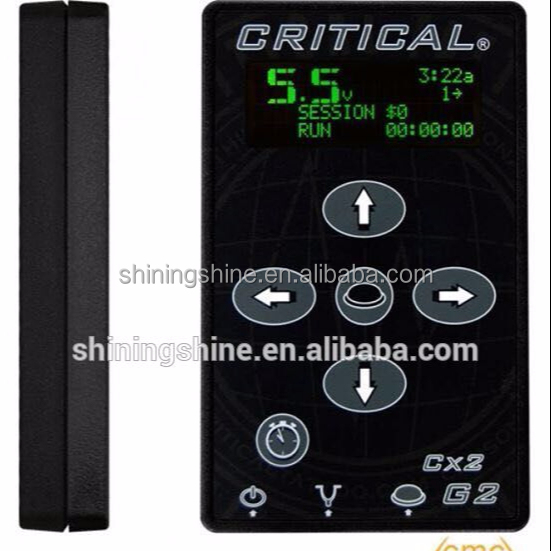 2018 hot sale CRITICAL tattoo power supply