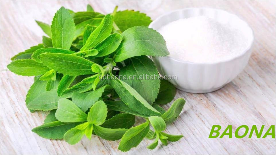 high quality natural Stevia sweeteners dry leaves Extract stevia glycosides Sweeteners rebaudioside a/b/c/d/m Powder