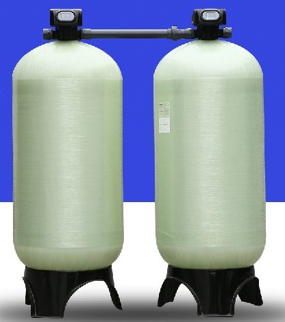 Cheap FRP 10TPH Water Softener for Fishpond, Bathroom