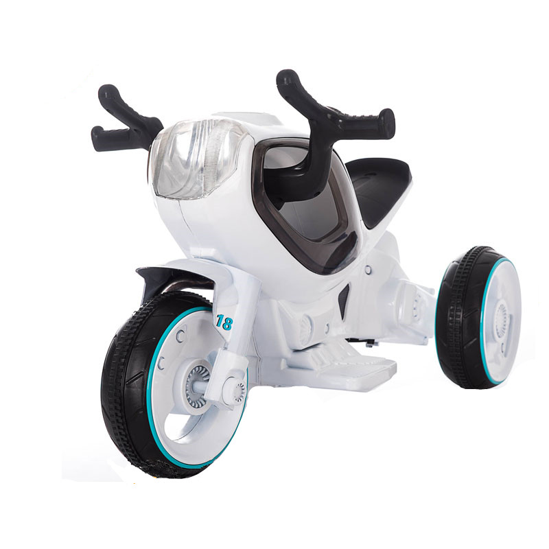 Rechargeable 6v battery powered kids motorcycle