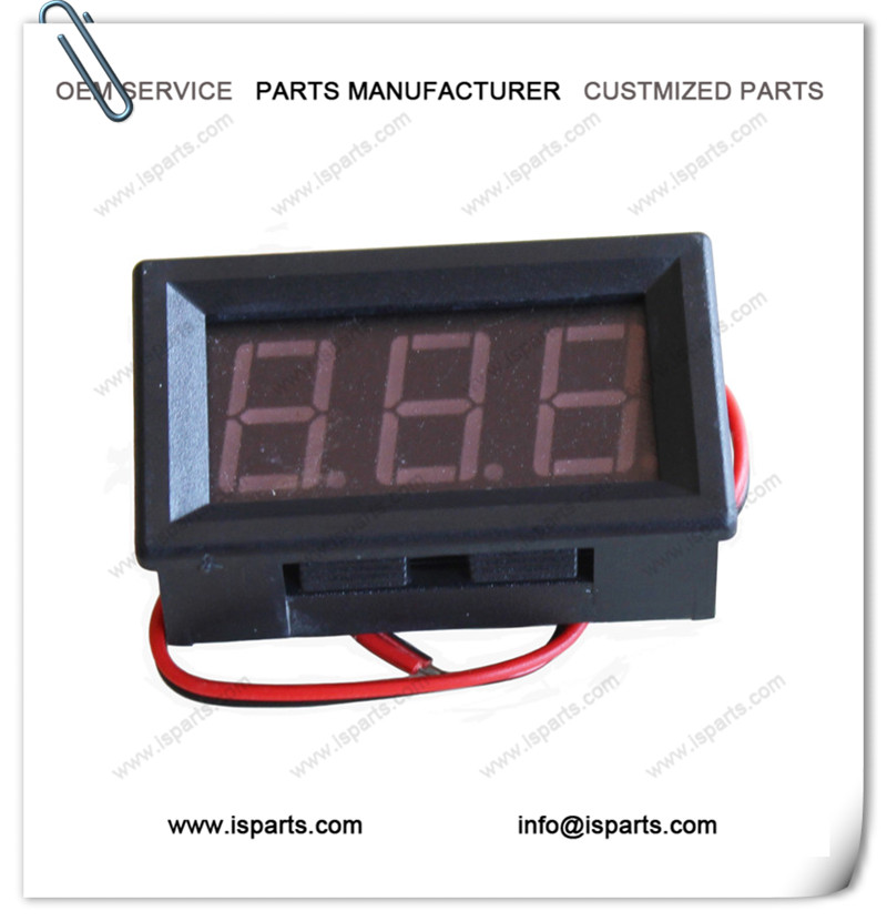 DC 5-120V Red LED Panel Meter Digital Voltmeter