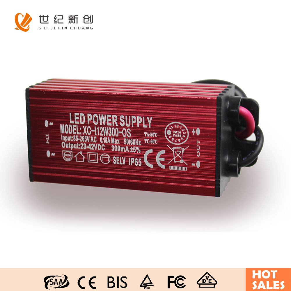 12W 300mA 600ma 900ma Constant Current IP67 Waterproof LED Driver