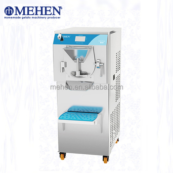 Hot Selling Professional Hard ice cream machine batch freezer Gelato Machine for gelato shops