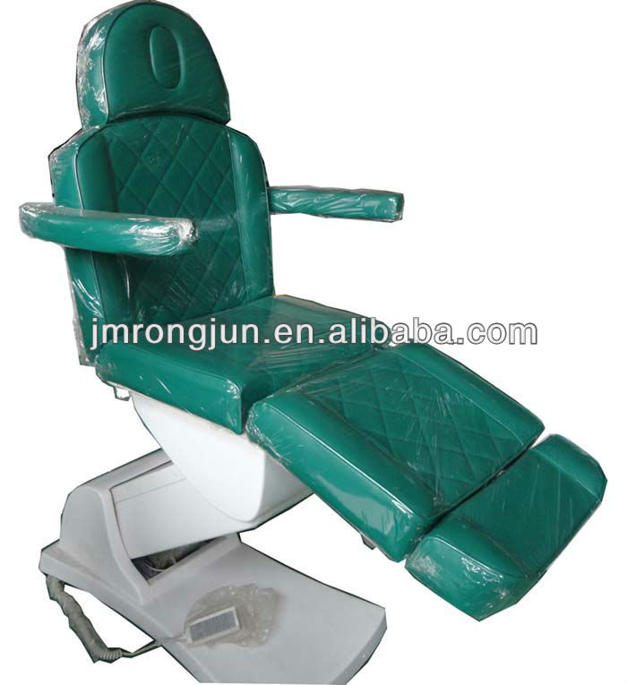 used electric 3 motor facial chair/massage table with color optional