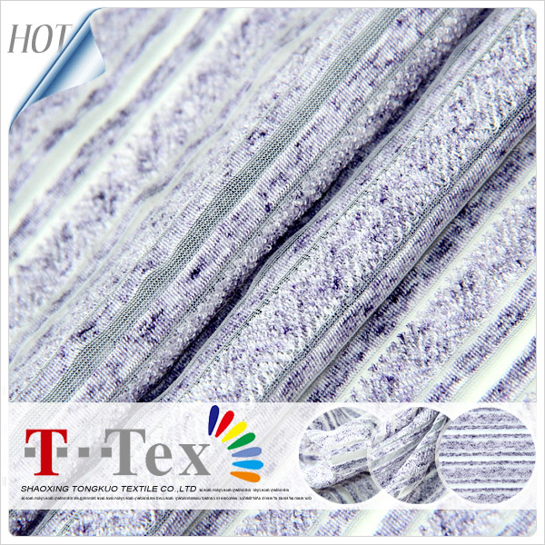 polyester stripe knit fabric,shadow stripe fabric,navy blue and white stripe fabric