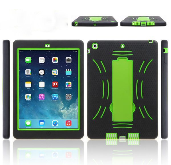 2 in 1 kickstand robot case for ipad air,one direction cover case for ipad air