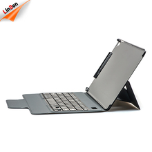 High Quality PU Leather Case Wireless 3.0 Keyboard For iPad 2017 9.7 inch With Strong Stand