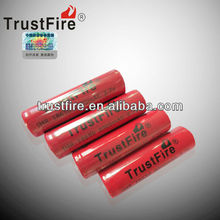 Trustfire 18650 protected battery 2000mAh li-ion battery 18650 5c discharge 18650 high discharge rate battery cells