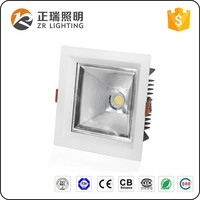 20W Recessed Square COB LED Downlight with Bridgelux chip and Lifud driver 5 years warranty