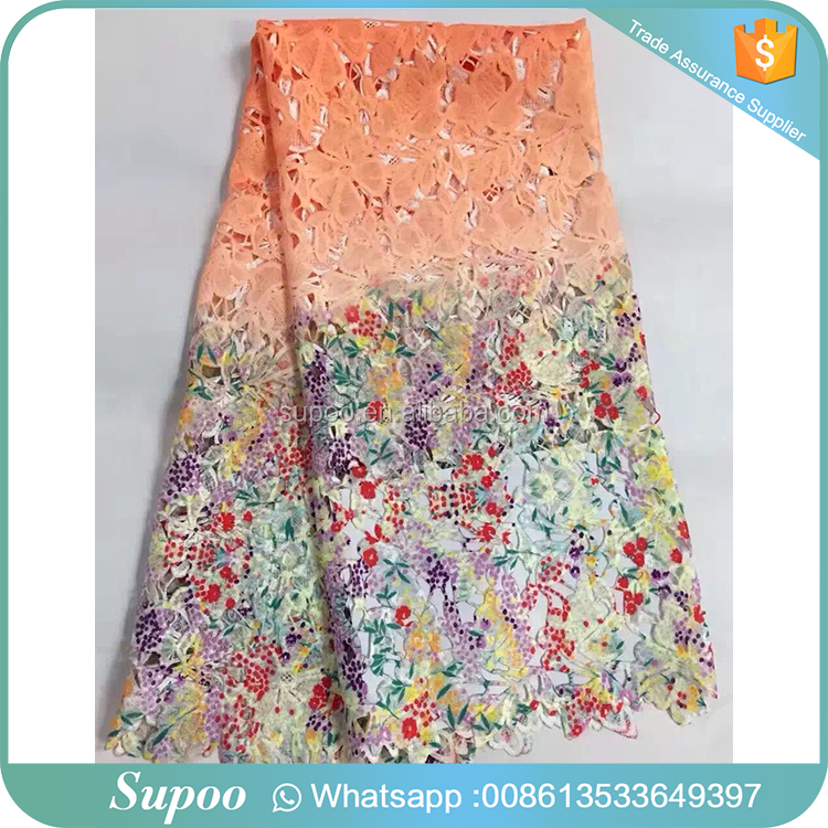 digital printed cord lace