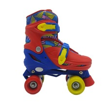 2018 new style high quality pvc wheels adjustable inline skates,quad roller skate