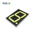 Volume production 1 digit 4 inch big 7 segment led numeric display