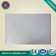 Long lifetime WPC wall panel / pvc film composite interior wall siding