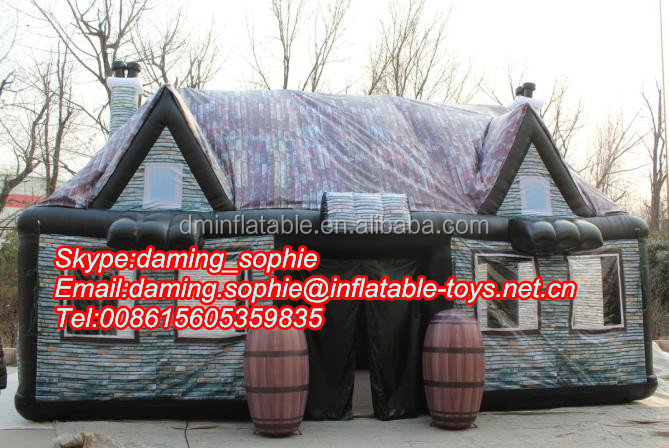 Outdoor inflatable bar tent, inflatable pub for party, event