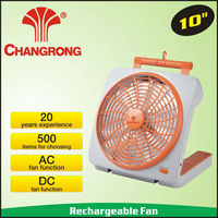 10inch classic DC adapter portable fan dry battery