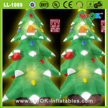 wholesale artificial led christmas tree stand decoration