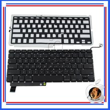 "Tested! 15.4"" Laptop for Macbook Pro Unibody A1286 US Keyboard & Backlight MC721 MC813 MB985"