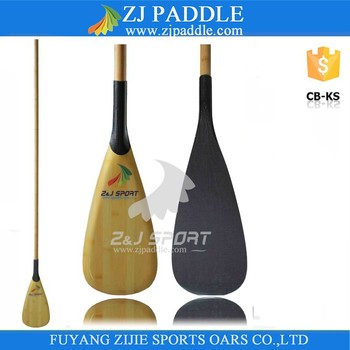 2017 Hot Selling Carbon Fiber Bamboo SUP Paddle