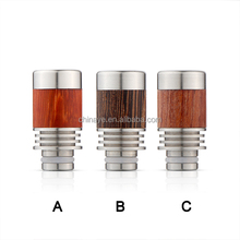 Disposable e cig 510 wooden cigar tip for tfv8 baby rokok Elektronik accessiry wood mouth piece en china