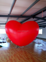 Romantic decor online Inflatable heart shape
