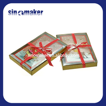 professional made offset printing 3d laser cutting greeting card