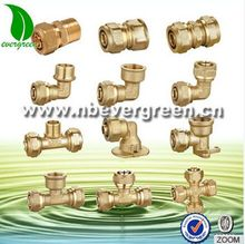 Brass 10mm compression fittings with all size