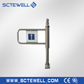 Security Manual Turnstile Gate Supermarket Swing Barrier Gate