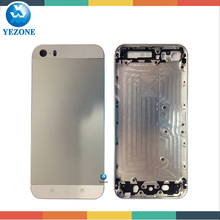 Hot Product Best Quality Original For iphone 5s Back Cover Housing , For iphone 5s Back Housing with Logo