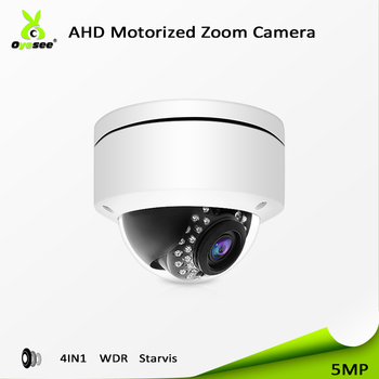2018 Top-rated 5MP cctv ahd dome metal housing camera parts Starlight Low illumination sonysensor WDR ir vision night 25m ip66