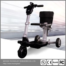 Sccoter Electrical Car foldabled Motorcycle,Smart 3 wheel Wheelchair Kick Scooter for Disabled with CE